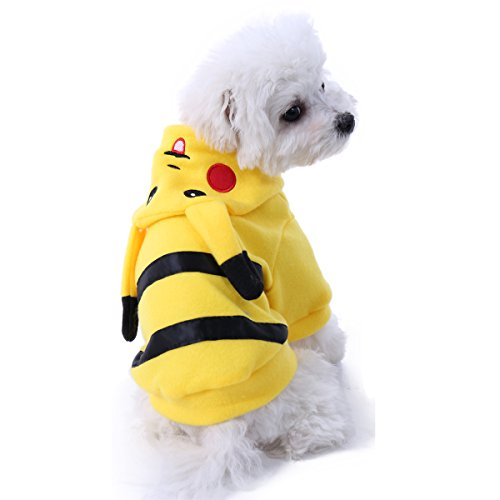 PAWZ Road Halloween Cartoon Design Pet Costume Dog Clothes Puppy Hoodie T-shirt XL -