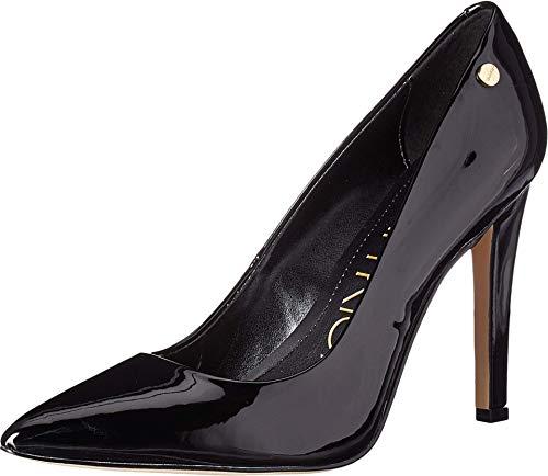 Calvin Klein Women's Brady Pump, Black Patent, 8.5