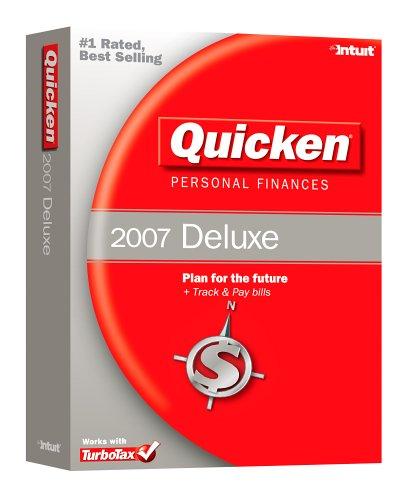 Amazon com: Quicken Personal Finances Deluxe 2007 [OLDER