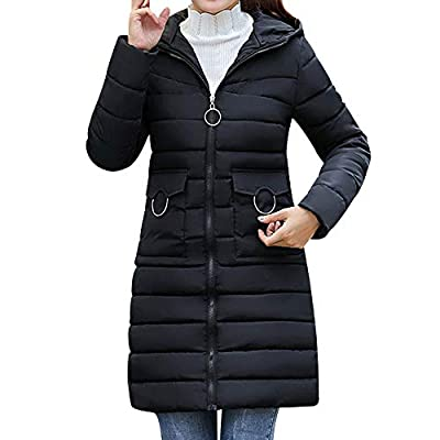 Coats For Women On Sale, Clearance!! Farjing Women Winter Sale Warm Coat Hooded Thick Warm Slim Jacket Long Overcoat