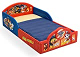 Delta Children Deluxe Nickelodeon Paw Patrol Toddler Bed Attached guardrails