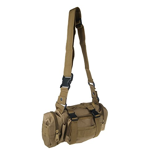 Vinteky® Extra Großer 50L Multifunktions-Kombination Wanderrucksack Klettern Reise Trekking Tasche - Khaki