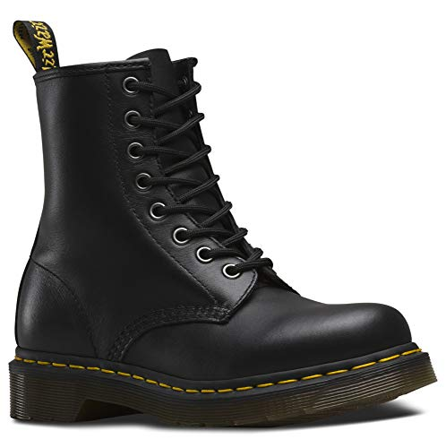 Dr. Martens Womens 1460W Originals Eight-Eye Lace-Up Boot, Black, 9 M US/7 UK from Dr. Martens