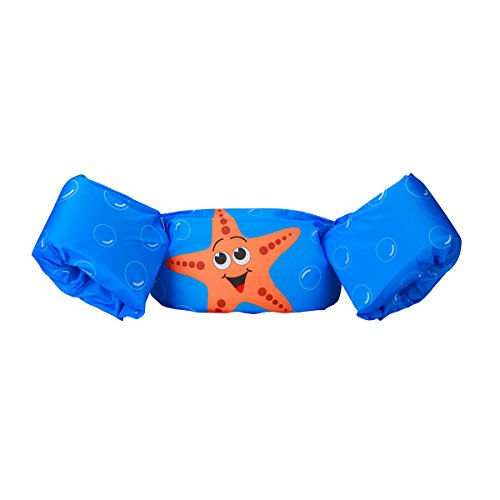 Elejolie Swim Aids for Toddlers,Kids Learn to Swim Life Jacket for Toddlers,Swim Aid Floater Life Vest (Starfish)
