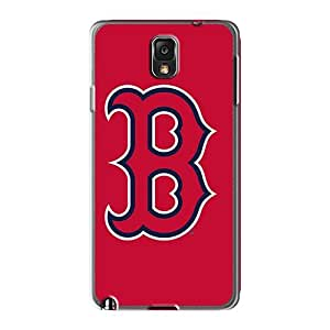 Casesbest88 Samsung Galaxy Note 3 Protector Hard Phone Cover Allow Personal Design Vivid Baseball Boston Red Sox 5 Series [hjy628EhXS]