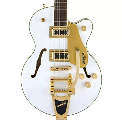(Gretsch Electromatic G5655TG Limited Edition Center Block Jr. - Snow Crest White )
