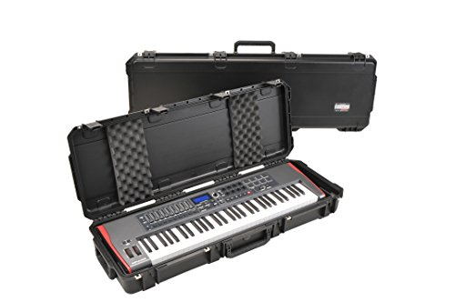 SKB Injection Molded Waterproof Keyboard Case 40 x 13 1/2 x 4 Inches (3I-4214-KBD) by SKB