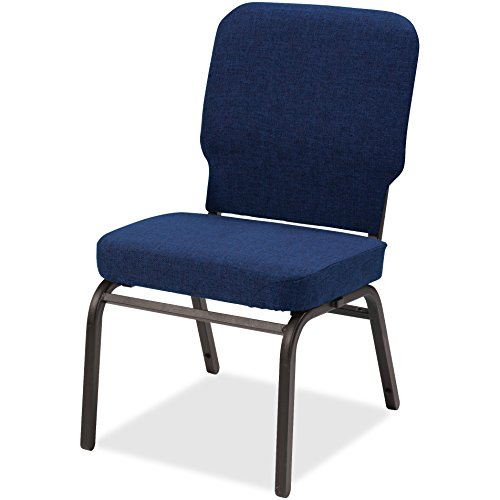 Oversize Stack Chair, 500lb Cap, 21