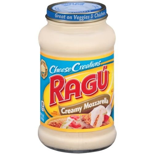 Ragu Cheese Creations Creamy Mozzarella Cheese Sauce, 16 Ounce - 12 per case. by Ragu