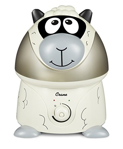 Crane USA Cool Mist Humidifier for Kids, Sheep