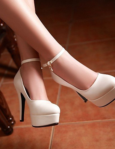amp; Habillé À White A chaussures gros Talon Ggx Bleu Talons 5 bureau us8 Femme Décontracté Eu39 Blanc Uk6 noir 5 Plateau Travail Rose Cn40 talons Chaussures XFHqTHt