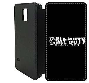 Samsung Galaxy S5 Flip Wallet funda, FKSGFKOOG9807 lujo moda cuero la PU Flip Wallet funda por Samsung Galaxy S5 (CALL OF DUTY BLACK OPS 2)