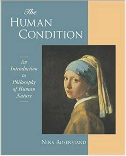 Book The Human Condition: An Introduction to the Philosophy of Human Nature by Rosenstand, Nina(November 2, 2001)