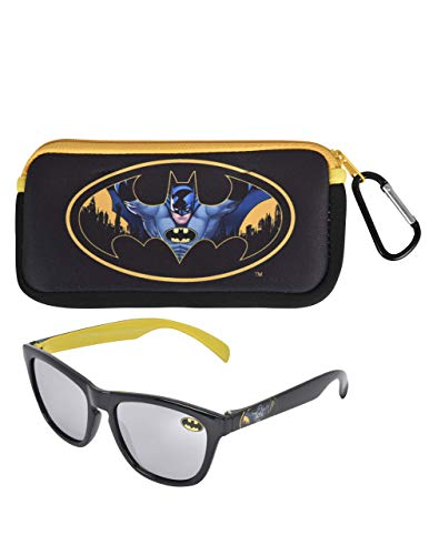 KIDS SUNGLASSES - BOYS 100% UV WITH SOFT POUCH, SPIDERMAN, PAW PATROL, AVENGERS]()