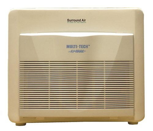 Surround Air Multi Tech XJ-3000C Air Purifier with HEPA/Carbon/Pre-Filter and Germicidal UV lamp by Surround Air