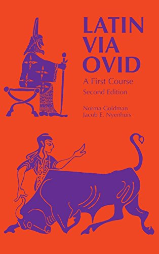 Latin Via Ovid: A First Course Second Edition by Brand: Wayne State University Press