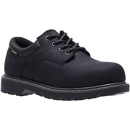 (Wolverine Men's Floorhand Oxford Steel Toe Construction Shoe, Black, 11 M US)