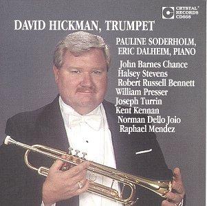 David Hickman - Trumpet: Dello Joio / Bennett / Turrin / Etc (CD)