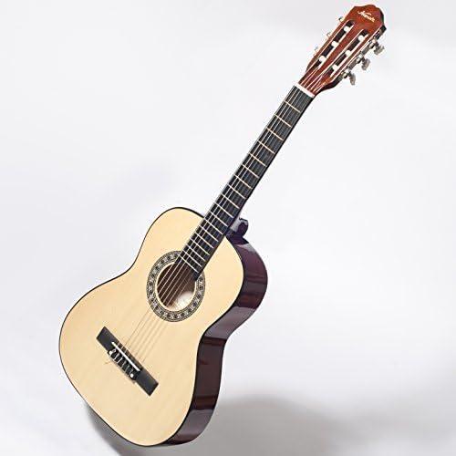 Kapok LC14 3/4 guitarra acústica pack para niños principiante 9 a ...