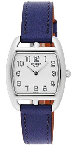 Hermes Watch Cape Cod Tonneau White Dial Calf Leather Belt Ct1.210.130.ww9k Ladies