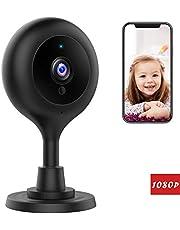 Victure 1080P FHD Baby Monitor WLAN Kamera Überwachungskamera Ton/Bewegungserkennung mit Nachtsicht 2-Wege Audio Cloud Service verfügbar Monitor Baby/Ältere/Haustiere kompatibel mit IOS/Android