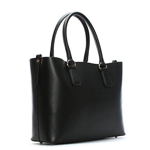 Daniel Member Black Leather Tote Bag Nero