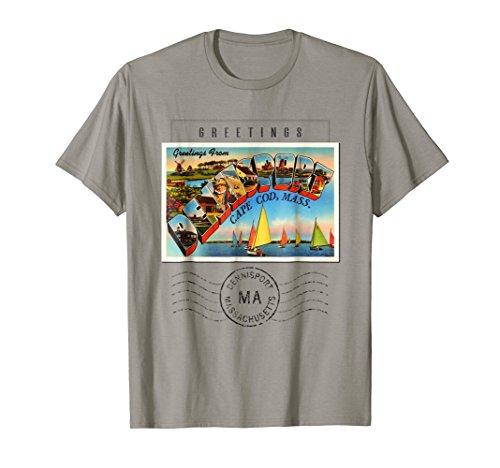 T-shirts Gifts Postcard - Dennisport Postcard T Shirt Massachusetts MA Gift