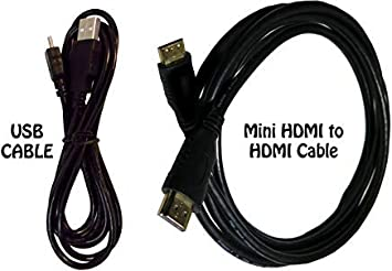 USB cable and HDMI cable for Canon EOS 760D