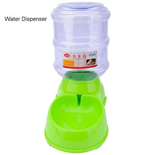 GHC-CASES-22 Pet Supplies, Plato de la Botella del Cuenco del alimentador del dispensador de la Comida del Agua del Gato del Perro casero del Animal ...