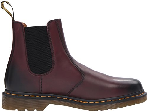Dr. Martens 2976, Stivali Chelsea Unisex-Adulto RED|MAROON