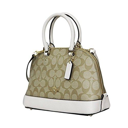Khaki Inclined Satchel Mini Chalk Sierra Women��s Coach Purse Light Shoulder Handbag Shoulder BxvEOq