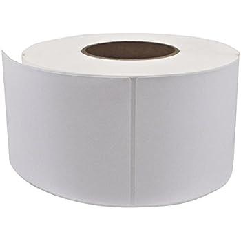 "PM Company PS46123 Direct Thermal Labels, 4""x6"", 3"" Core, White, 1000 Labels Per Roll, 4 Rolls Per Carton"