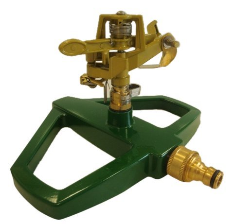 Greenkey-Pulsierender-Rasensprenger-Metallsockel