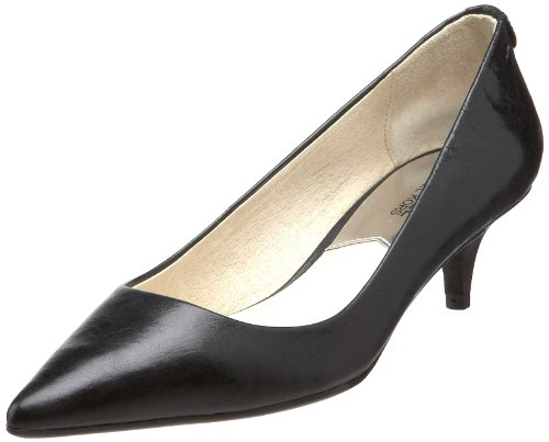 MICHAEL Michael Kors Women's Mid Heel Pumps, Black, 9.5 B(M) - Us Michael Kors