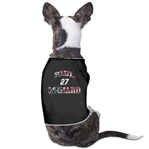 - Paul Menard Americana Flag Black Dog Shirt Chic Style Pet T Shirt