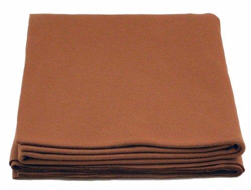 100% Cotton Knit Waldorf Doll Skin Fabric - One Yard - Brown Knit Fabric