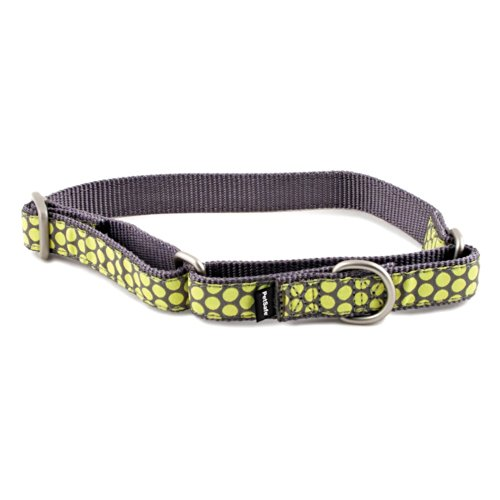 PetSafe Fido Finery Martingale-Style Dog Collar, 1/2-Inch, Petite, Dotted Bliss