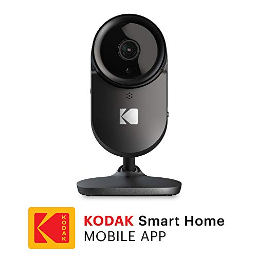 (KODAK Cherish F670 Home Security Camera with Mobile App - Full-HD Wireless Security Camera System with Infrared Night-Vision, Zoom & 110deg View - Surveillance Camera, WiFi IP Camera, Indoor Security)