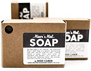 product image for Miner's Mint Soap 3-Pack - All Natural, Hand Cut, Made in USA