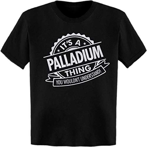 (It's a Palladium Thing. You Wouldn't Understand! Quality Seal T-Shirt Black)