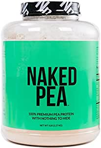 5LB 100% Pea Protein Isolate from North American Farms - Bulk, Plant Based, Vegetarian & Vegan Protein. Easy to Digest - Speeds Muscle Recovery - Non-GMO - Lactose, Soy and Gluten Free - 76 Servings
