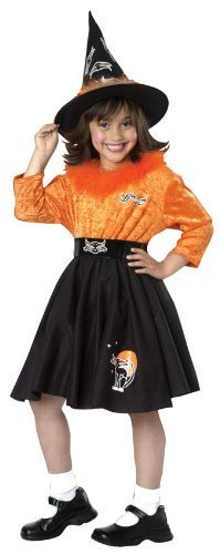 [Girls Rockin' Witch Costume - Toddler by Halloween Resource Center] (Girls Rockin Witch Costumes)