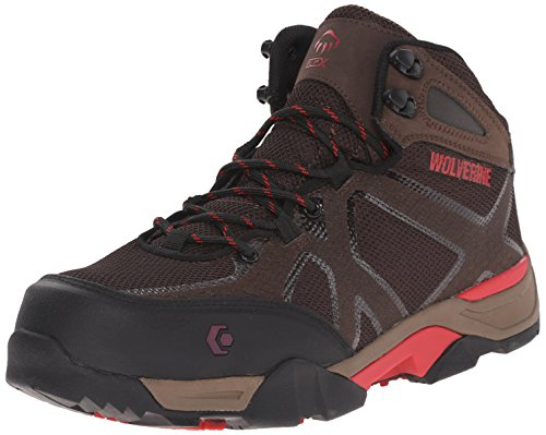 Wolverine Mens thunderhead SX Work Boot Brown