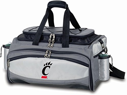 (PICNIC TIME NCAA Cincinnati Bearcats Embroidered Vulcan Set, One Size, Black)