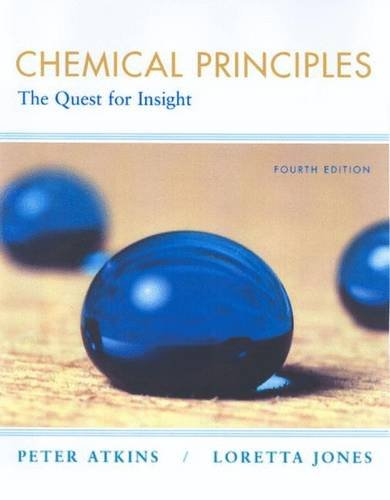 Chemical Principles, Corrected ISE : The Quest for Insight: Amazon.es: Atkins, Peter: Libros en idiomas extranjeros