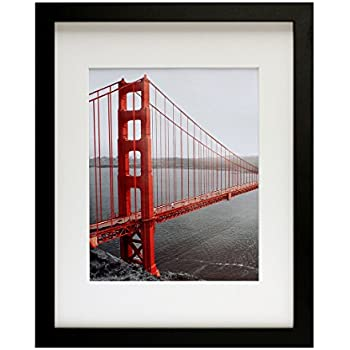 Amazoncom Frametory 11x14 Black Picture Frames Made To Display