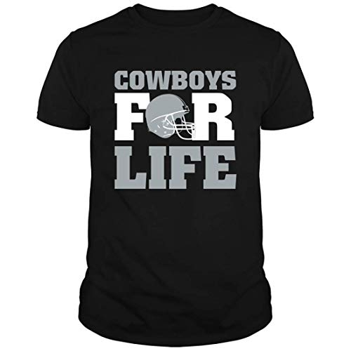 Bama Proud Cowboys for Life T-Shirt (Unisex) Dallas Football Lovers T-Shirts Gifts, 5XL Black