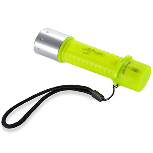 BlueFire® 1100 Lumen Cree XM-L2 Professional Diving Flashlight, Bright LED Submarine Light Scuba Safety Lights Waterproof Underwater Torch for Outdoor Under water Sports