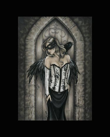Jessica Galbreth The Secret Door Fairy Faery Matted Print 16