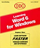 Learning Word for Windows/Version 6, Michael Singleton, 1562433261